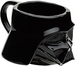 Zak Designs SWRD-8517 Coffee Mugs, Sculpted, Star Wars Ep4 Darth Vader