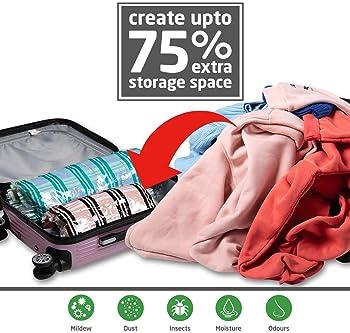 Nouveau-Roll Up Compression Sacs de voyage-Pack de 10 moyennes et grandes
