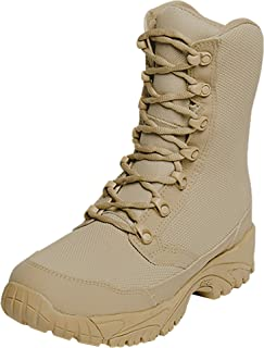 ALTAI 8 Waterproof Tan Combat Boots Model: MFM100