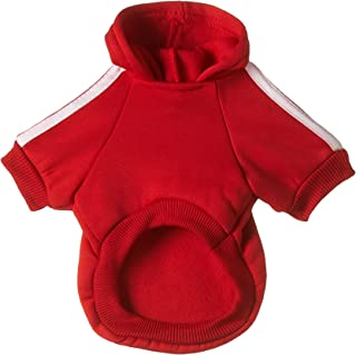 Mumoo Bear Pet Dog Cat Sweater Puppy T Shirt Warm Hooded Coat Clothes Apparel, Size S