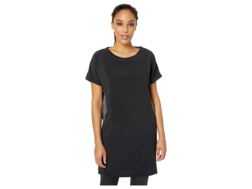 Smartwool Merino Sport Short Sleeve Dress (Black) Women