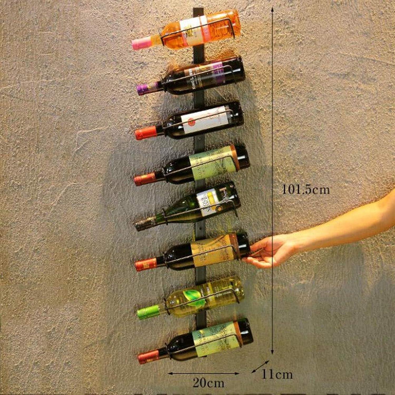 alta calidad Ccf Ccf Ccf Colgador de Parojo de Hierro Estante de Vino Estante de Vino Estante de Vino Estante de Parojo Colgante de Parojo Alto Estante de Vidrio de Vino (Color   C2)  la calidad primero los consumidores primero