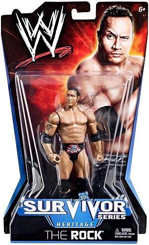 mas preferencial Mattel WWE The Rock 1998 1998 1998 - Figura de la Serie de Supervivencia, Serie Heritage PPV  10  hasta 42% de descuento