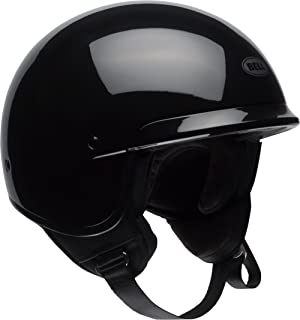 Bell Scout Air Open-Face Motorcycle Helmet (Solid Gloss Black, XX-Large)
