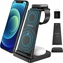 Detachable 3 in 1 Wireless Charger Stand,Kertxin Qi-certificated Wireless Charging Station for...