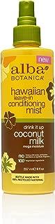 Best alba botanica shine control coconut water Reviews