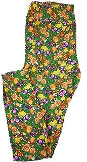Tall Curvy TC Disney Daisy Duck Among The Roses Adult Leggings fits 12-18