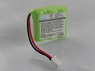 vhbw Batería NiMH 300mAh (3.6V) para Collar de adiestramiento para Perros Tri-Tronics Upland Special XL, Upland Special XLS como CM-TR103, FPB9595.