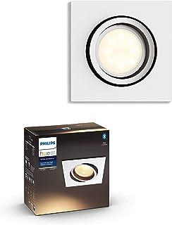 Philips Hue Milliskin inbouwspot - Duurzame LED Verlichting - Warm tot Koelwit Licht - Dimbaar - Verbind met Bluetooth of ...