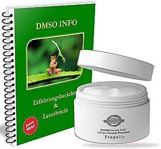Leivys DMSO CREME Propolis- Salbe mit Dimethysulfoxid 99,9% gratis Handbuch Anwendung Wirkung 50ml
