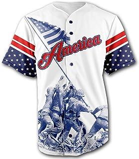Greater Half Baseball Jersey Custom 2nd Amendment Baseball Jersey (Small-XXXXL)