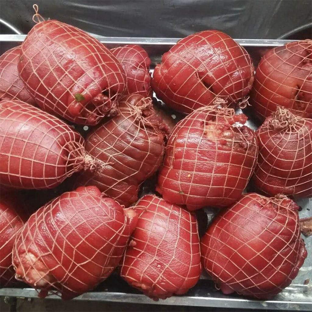 macellaio salsicce 3 m per carne spago per carne Rotolo di rete per carne per prosciutto