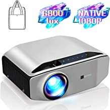 "GooDee YG620 Native 1080p Projector 6800 Lux 300"" Full HD LCD Video Projector.."