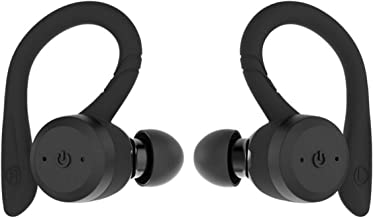 True Wireless Earbuds Bluetooth 5.0 Headphones, Sports in-Ear TWS Stereo Mini Headset w/Mic Extra HIFI Bass IPX7 Waterproof,Instant Pairing 15H Battery Charging Case Noise Cancelling Earbuds Earphones