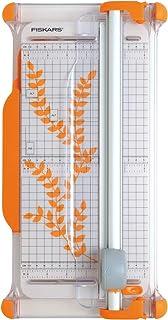 Fiskars Massicot rotatif Portable, A4, Avec guide de coupe, 1003921