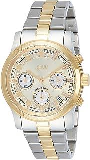 JBW Luxury Women's Alessandra 21 Diamonds Chronograph Metal Watch - JB-6217-C