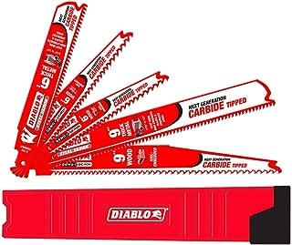 Diablo by Freud DS005SC Carbide Reciprocating Saw Blade Set (5 Piece) (1 per pack)