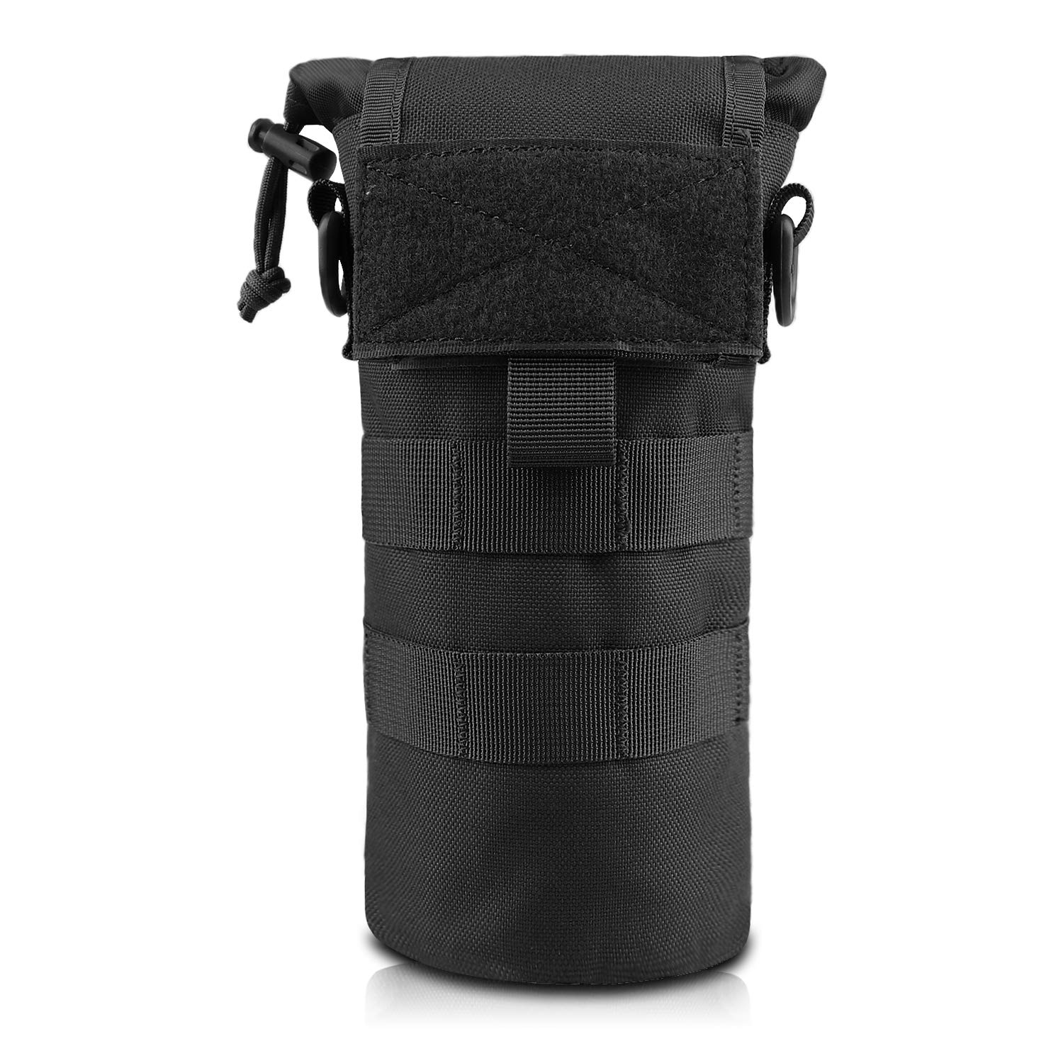 AMYIPO Water Bottle Pouch Molle Tactical Holder Storage Bag for 32oz Carrier