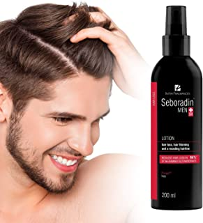 Seboradin Men Lotion, for Hair Loss, Hair Thinning and Receding Hairline, 200 ml