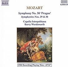 Mozart: Symphonies Nos. 29, 30 And 38