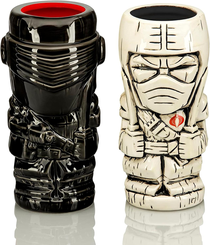 Geeki Tikis G.I. Joe Ceramic Mug Storm Snake Eyes Max 68% OFF Max 80% OFF Set Shadow