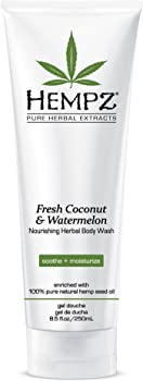 Hempz Fresh Coconut & Watermelon Nourishing Herbal Body Wash, 8.5 oz.