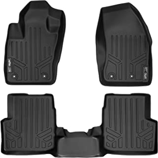 2015-2017 Jeep Renegade MAXFLOORMAT Floor Mats for Jeep Renegade (2015-2017) Complete Set (Black) - coolthings.us