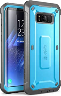 SUPCASE Unicorn Beetle PRO Series Phone Case for Samsung Galaxy S8, Full-Body Rugged Protective Case for Galaxy S8 2017 (Blue)