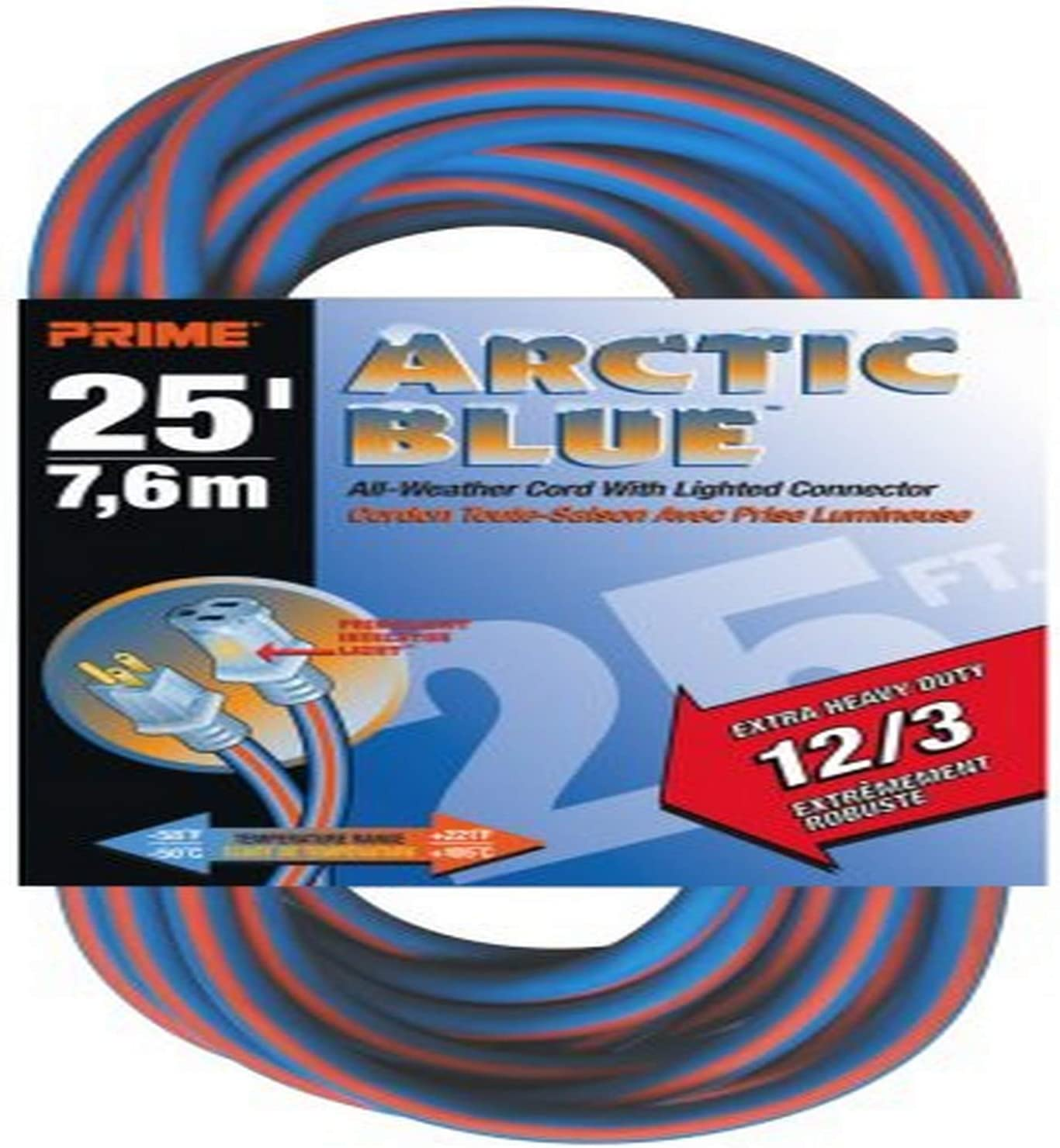 Prime LT530825 Extra Heavy Duty 25-Foot T Blue All-Weather Bombing free shipping Ranking TOP15 Artic