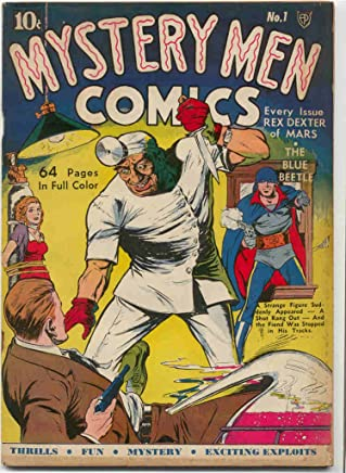 Mystery Men Comics #1 (Illustrated) (Golden Age Preservation Project) (English Edition)