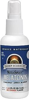 Source Naturals Sleep Science Melatonin Liquid Sleep Support - Orange Flavor - 2 oz (Pack of 3)