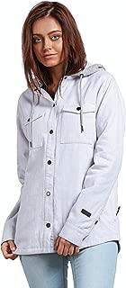 Women's Hooded Yarn Dye Flannel Snow Jacket