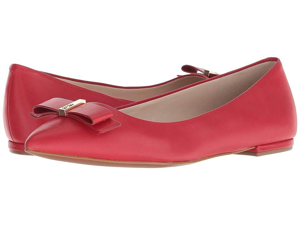 Cole Haan Elsie Bow Skimmer Ballet Flat (Barbados Cherry Leather) Women