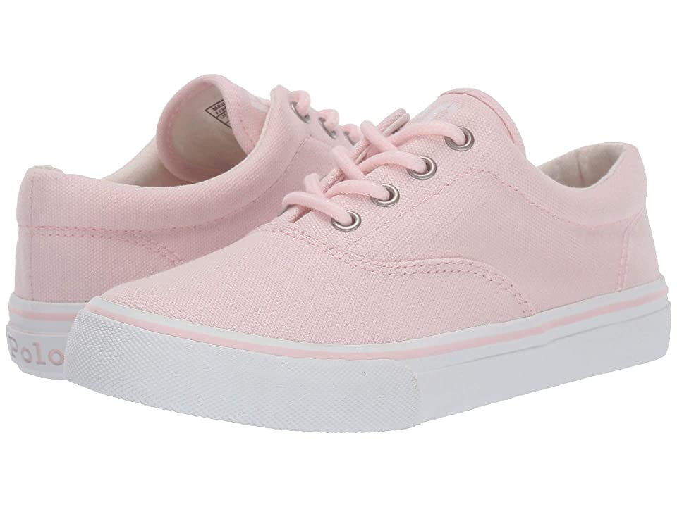 Polo Ralph Lauren Kids Bryn (Little Kid) (Light Pink Washed Canvas) Girl