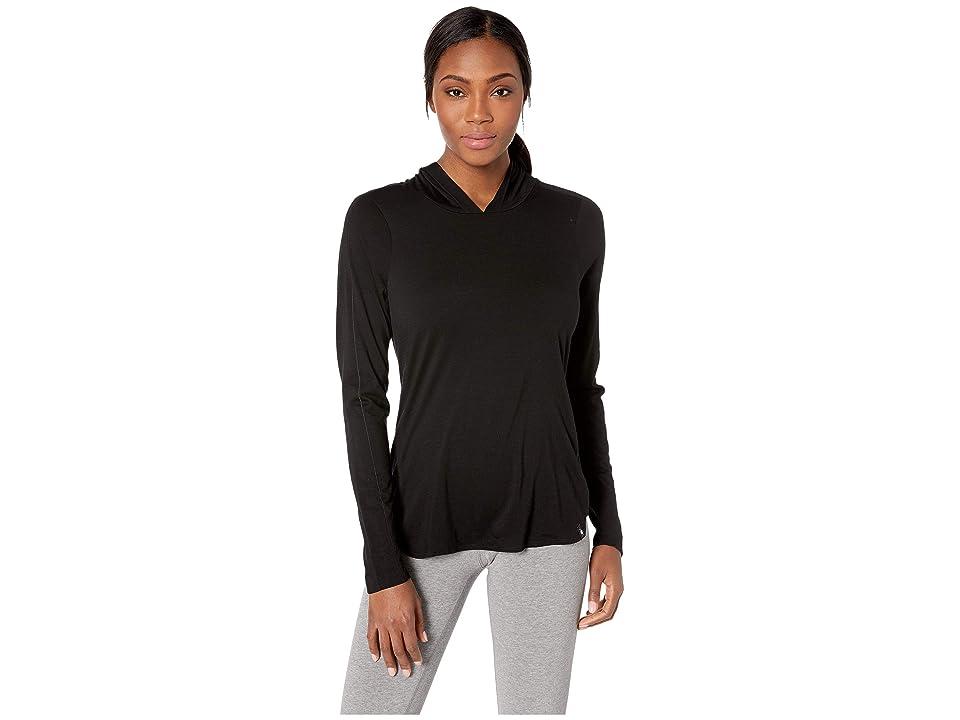 Image of Smartwool Merino 150 Hoodie (Black) Women's Sweatshirt