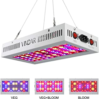 Vindar LED Grow Light, 1200W Double Chips Full Spectrum Grow Lamp for Greenhouse Hydroponic Indoor Plants Veg and Flower All Phases of Plant Growth
