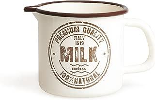 Excelsa Premium Quality, Iron Enamel Jug, Cream