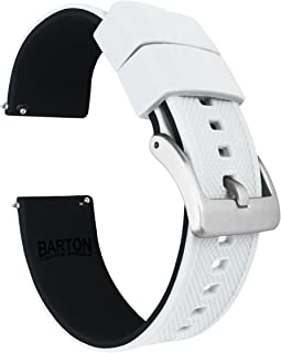 BARTON Watch Bands - Elite Silicone Watch Straps - Quick Release - Choose Color & Width - 18mm, 19mm, 20mm, 21mm, 22mm, 23...