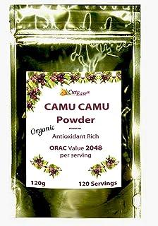 NEW CurEase Organic Camu Camu Freeze Dried Powder Natural Vitamin C Kosher