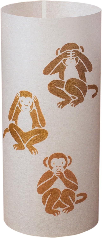 SANEN - Japanische Lampe Handgefertigt - Japanischer Affe B011QWIGEW  | eine breite Palette von Produkten