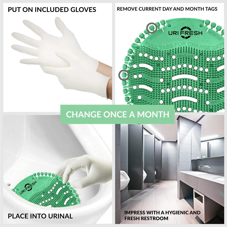 Mango Urinal Screen /& Deodorizer