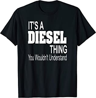 It's A Diesel Thing T-Shirt Black Smoke Trucks Rolling Coal