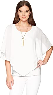 AGB Women's V Front Popover Top