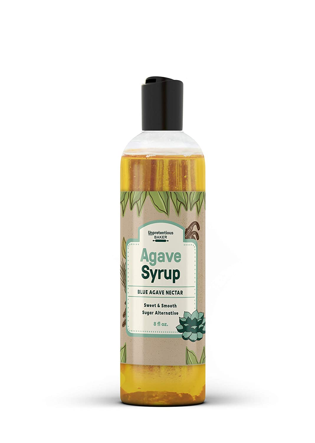 Agave Syrup 8 fl oz Sweetener Substitute Nectar Natural Sugar Wholesale Limited time cheap sale