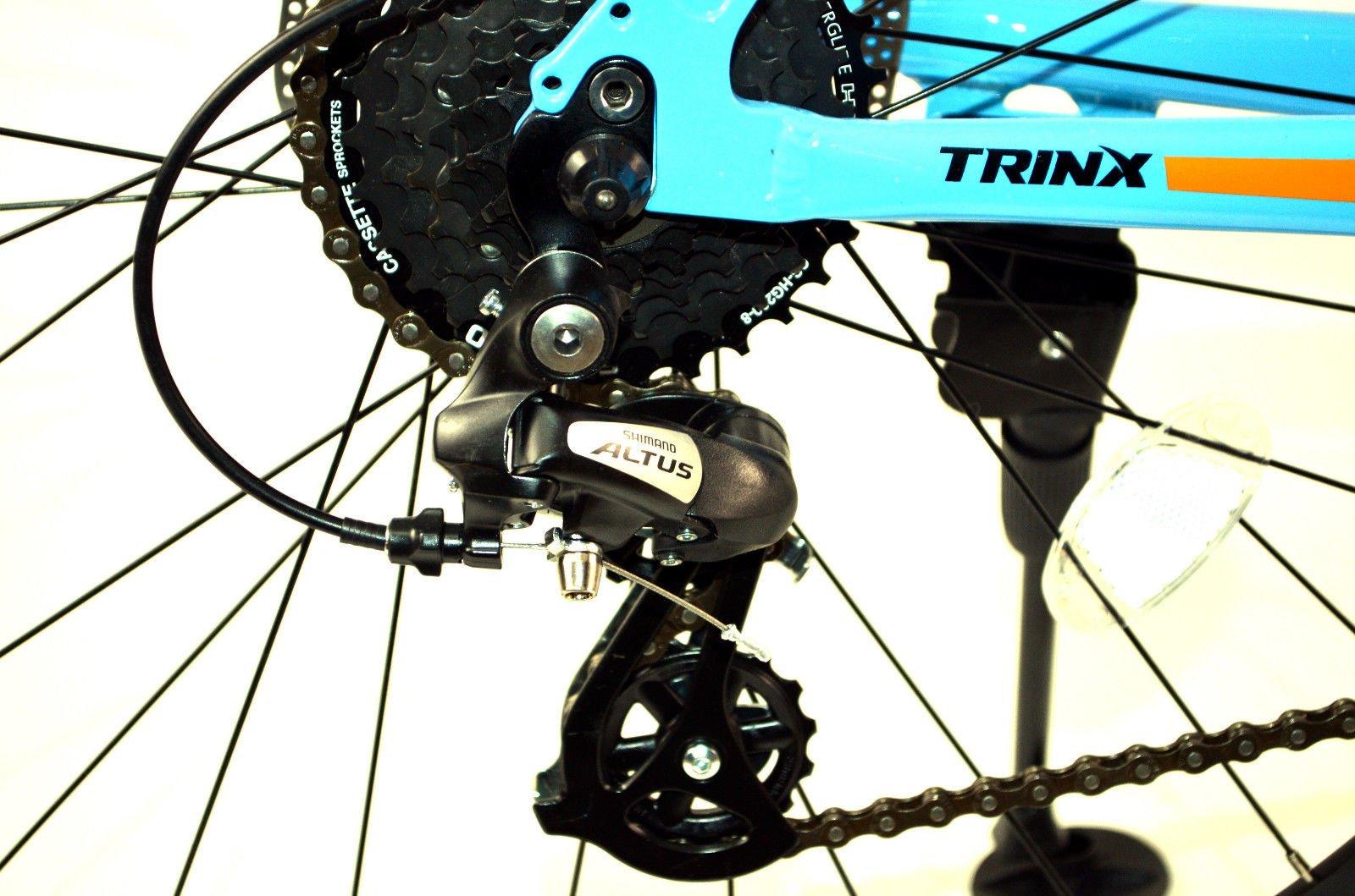 Mountain Bike Bicicleta trinx C 600 Challenger 27,5 MTB 24 velocidades Shimano Altus Bike Bicicleta Mountain Bike Aluminio Hardtail trinx Bikes nuevo: Amazon.es: Deportes y aire libre