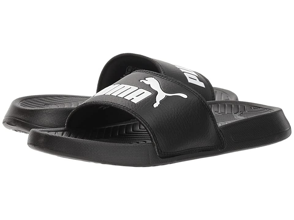 Puma Kids Popcat (Big Kid) (Puma Black/Puma White) Kids Shoes