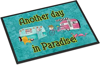 "Caroline's Treasures Another Day in Paradise Indoor or Outdoor Doormat, 18"" x 27"", Multicolor"