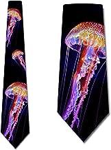 Jellyfish Ties Mens Ocean Animal Necktie by Three Rooker