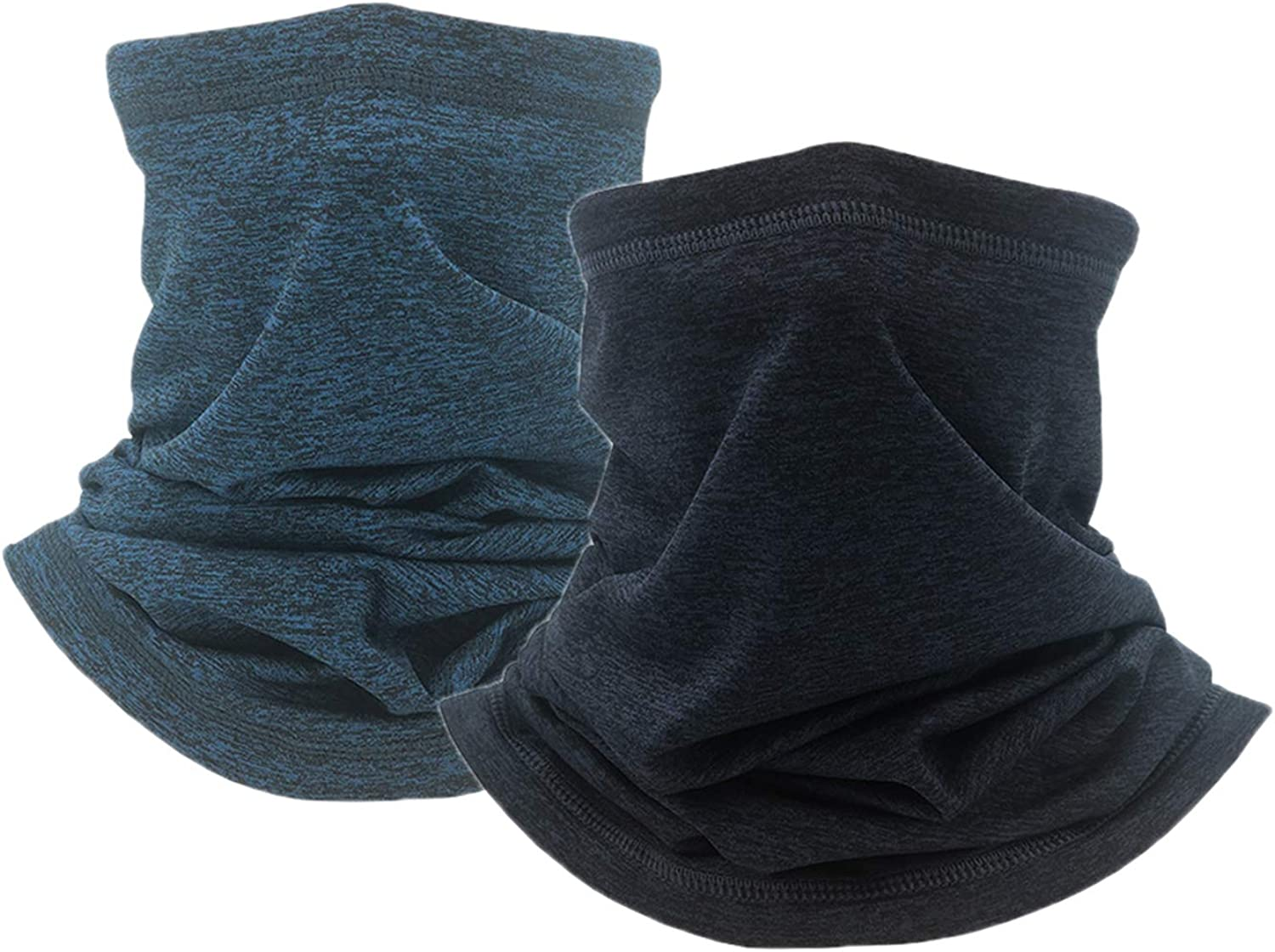 Zerolove 2 Packs Neck Warmer Gaiter Face Neck Cover For Cold Weather In Winter