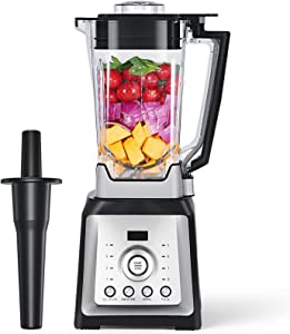 Professional Blenders for Kitchen, 1450W High Speed Countertop Blender with 70oz Tritan Pitcher, Smoothies Blender Marker for Crushing Ice, Frozen Fruits and Shakes, 8 Adjustable Speeds